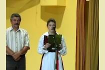A Zetelaki Ezüstfenyő Néptánccsoport szereplése Nagymányokon- 2013 augusztus