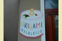 A nyolcadik origami találkozó Zetelakán- 2014