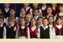 A zetelaki gyermekkórus karácsonyi szereplése 2012-ben