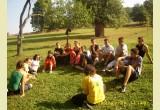 2009- csapatépítő tábor Zeteváralján